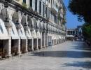 Liston square, Corfu