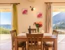 Villa Marianthi Dining area, Nissaki Corfu