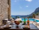 Villa Marianthi terrace, Nissaki Corfu