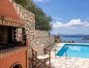 Villa Zeta BBQ area, Nissaki Corfu